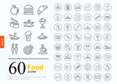 60 food icons
