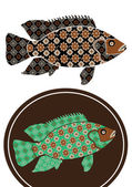 Gorgeous patterned fish beauty