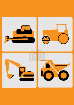 the heavy equipment icon