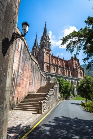 basilica of santa maria covadonga asturias