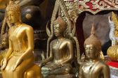 Pohled na sochu Buddhy v Thajsku