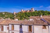 Starověké Arabská pevnost Alhambra, Granada