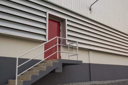 Fire doors of the warehouse