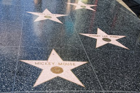Hollywood Walk of Fame Mickey Mouse
