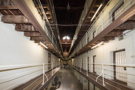PERTH - AUSTRALIA - AUGUST, 20 2015 - Fremantle Prison is now open to the public