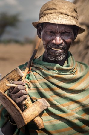 Old man from Arbore Tribe