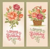Happy Birthday Postcard Set