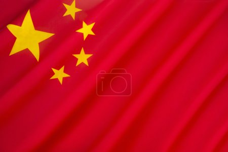 Flag of the Peoples Republic of China - The red re...