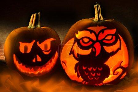 Halloween - Spooky Pumpkins