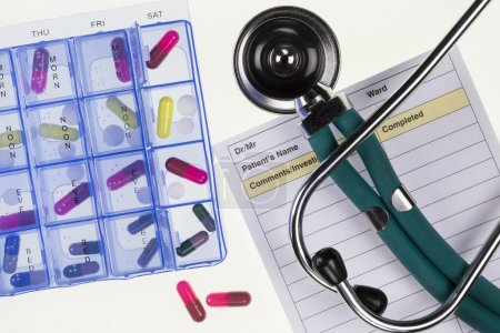 Tratamiento médico - Estetoscopio