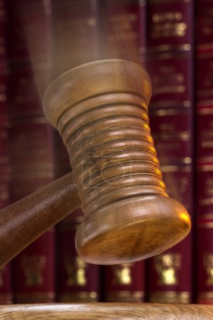 Auctioneer or Judges Gavel - Order