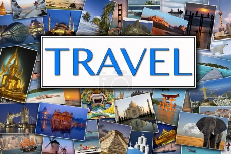 Photo for Travel Header - Photos of International travel Destinations - Royalty Free Image