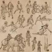 Sport - An hand drawn vector pack