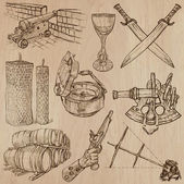 Objects - An hand drawn vectors Converted