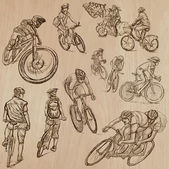 Cycling - An hand drawn vector pack
