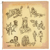 People Natives An hand drawn vector pack