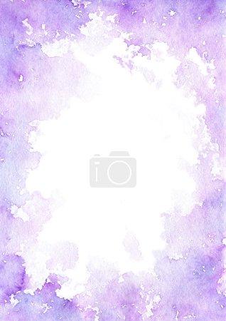 Foto de Abstracta fondo acuarela dibujada a mano - Imagen libre de derechos