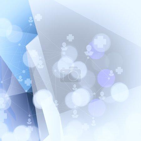 Foto de Fondo geométrico poli bajo abstracto - Imagen libre de derechos