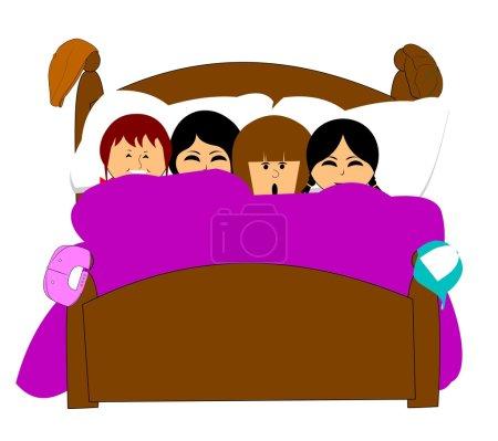 Dormir en casa