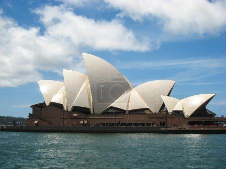 Opera House in Sidney Harbour, Australia...