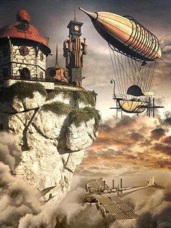Zeppelin и Часовая башня