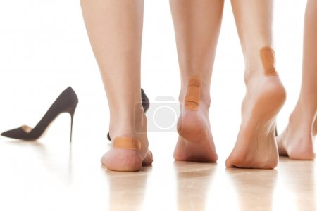 Tight footwear