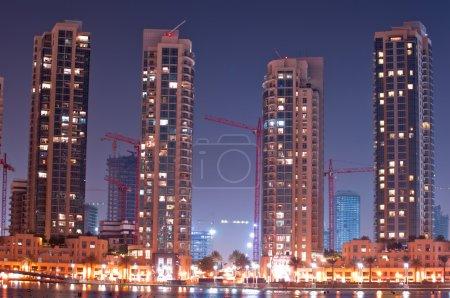 Dubai cityscape, UAE