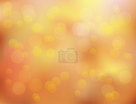 Soft in autumn colors abstract background with bokeh effect.