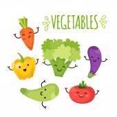 Healty food cartoon representing
