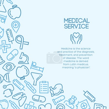 Medical service background