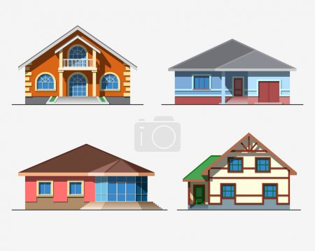 Houses 3 color