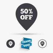 50 procent prodej ukazatel