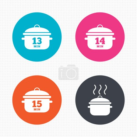 Cooking pan icons.