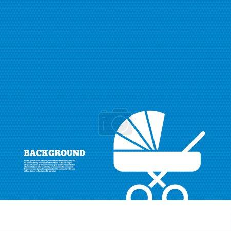 Baby pram stroller sign