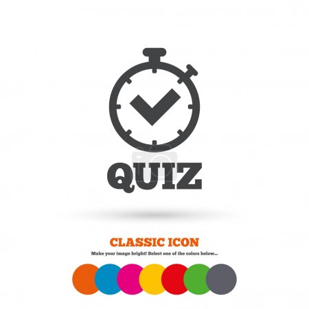 Quiz, question, answer game icon
