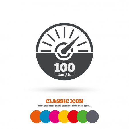 Tachometer, car, Revolution-counter icon