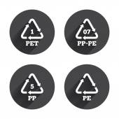 PET PP-pe and PP