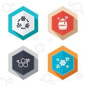 Honey icon Honeycomb cells