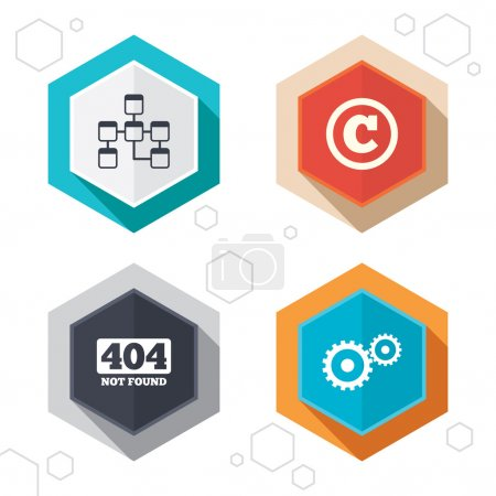 Website database icons