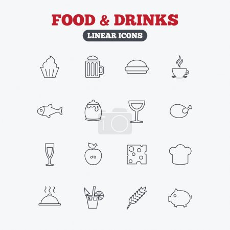 Food and Drinks icon.