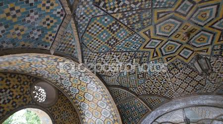 Český Těšín budova palác karim Khan zand stěn