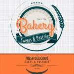 Vintage bakery background...