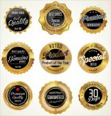 Golden Premium Quality Labels