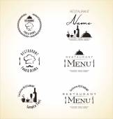 Restaurace menu design