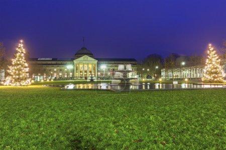 The Kurhaus of Wiesbaden in Germany