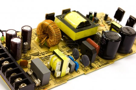 Photo for Power supply board technology - Royalty Free Image