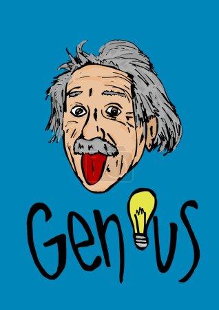 Альберт Эйнштейн трепло