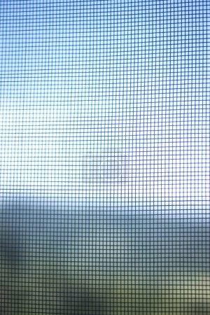 Mosquito fly net netting in window
