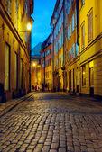 Night street, Stockholm