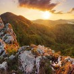 Slovakia mountain at spring